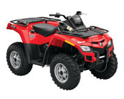 Can-Am Outlander  500 (09-12)