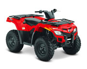 Can-Am Outlander  400 (09-14)