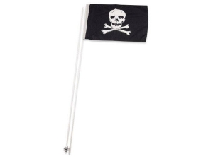 Quadfahne - Piratenflagge