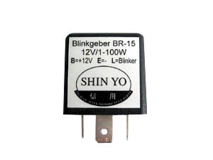 LED Blinkrelais, 1-100 Watt