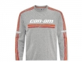 Can-Am | Original T-Shirt Langarm grau