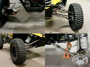 "Lonestar Racing | MTS +3.5"" Suspension Kit"