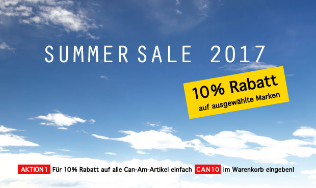 Can-Am Summersale 2017